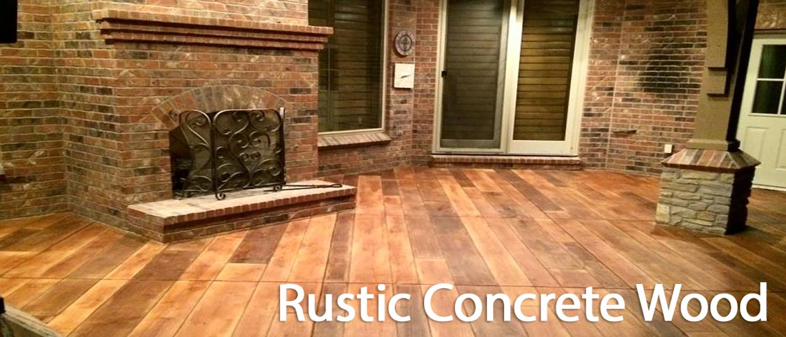 Conway Arkansas Concrete Staining